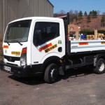 camion benne 3.5T