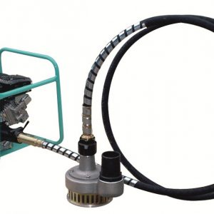pompe a cable – batiment – eau sale