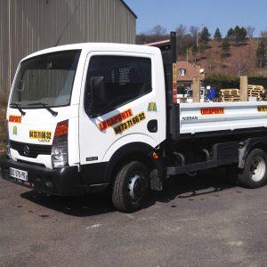 camion benne – transport – 3T5 – nissan (3)